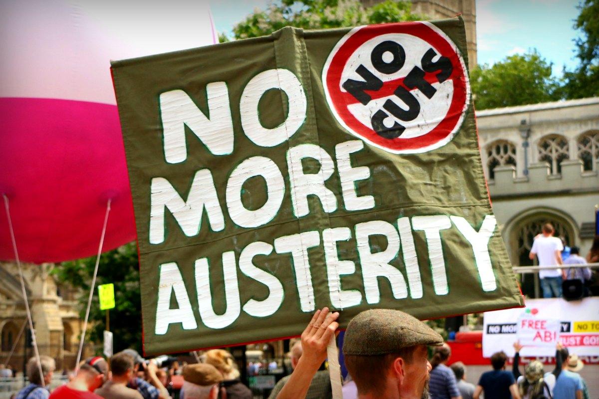 Austerity demo Image Socialist Appeal