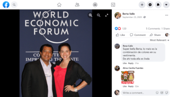   USfunded Nicaraguan coup leader Felix Maradiaga and his wife Berta Valle at the World Economic Forum   MR Online