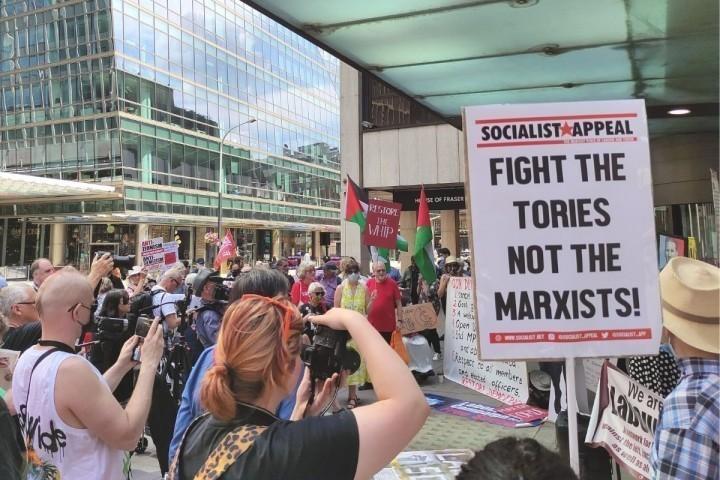 Fight tories not Marxists Image Socialist Appeal