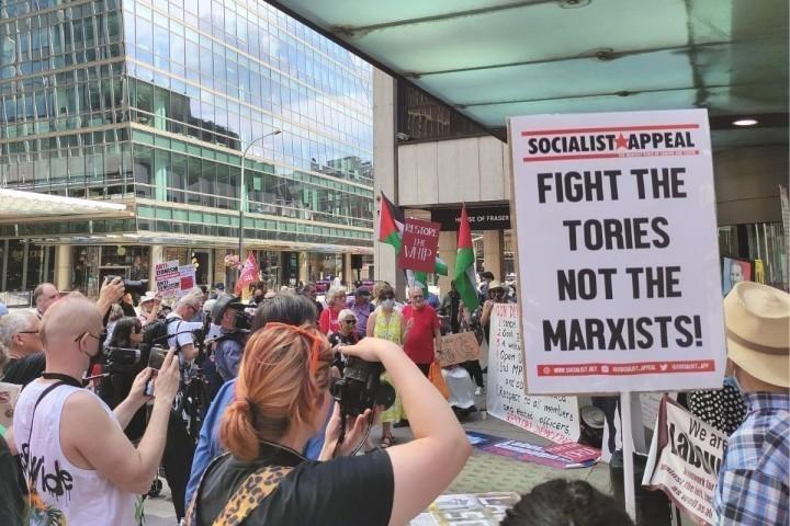 Socialist appeal protest Image Socialist Appeal
