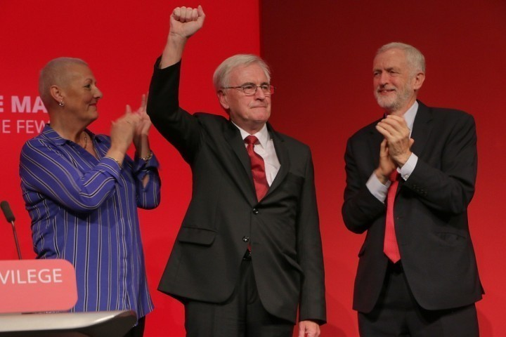 Corbyn McDonnell Formby standing