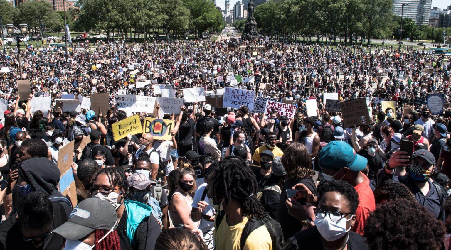Black Lives Matter Protest George Floyd Image Joe Piette Flickr