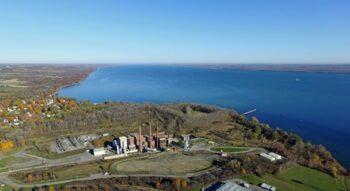 | The Greenidge bitcoin mining facility and frackedgas power plant mar the landscape of Seneca Lakes west shore | MR Online