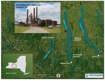 | Location of Greenidge Generation Facility Dresden NY | MR Online