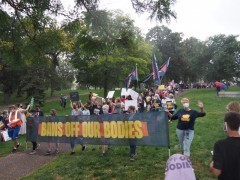 Thousands march for reproductive rights in Minneapolis.