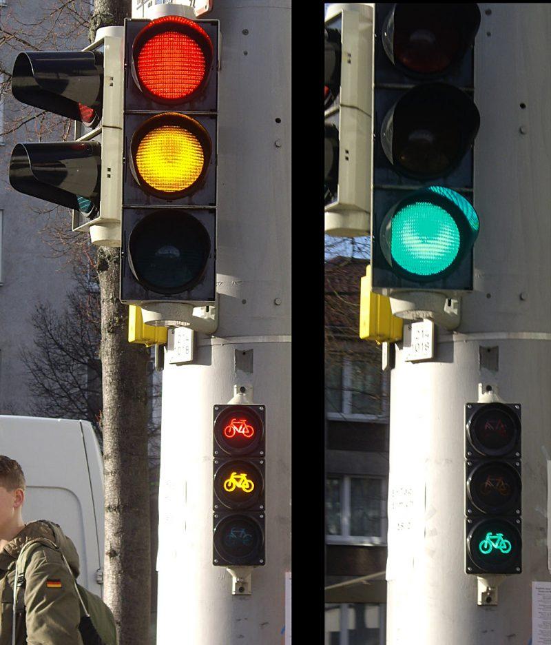 Traffic light in Germany